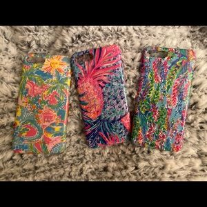 Bundle Three Lilly Pulitzer iPhone 8 Plus Cases